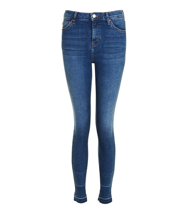 Most Popular Fashion Items 2017: Topshop Moto Jamie jeans with let down hem