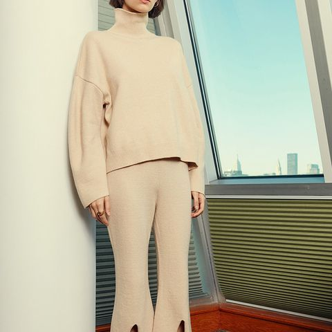 Sweater and Pant Knit Set