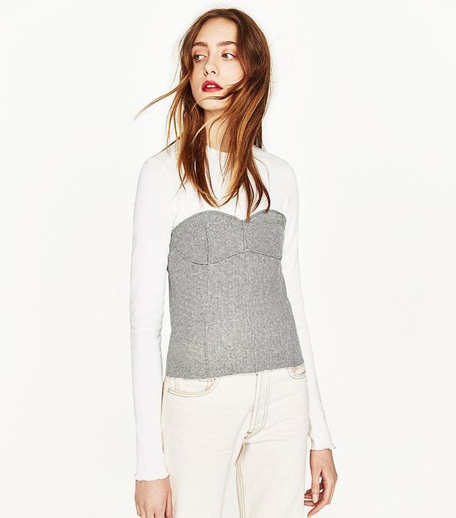 Zara Corset T-Shirt