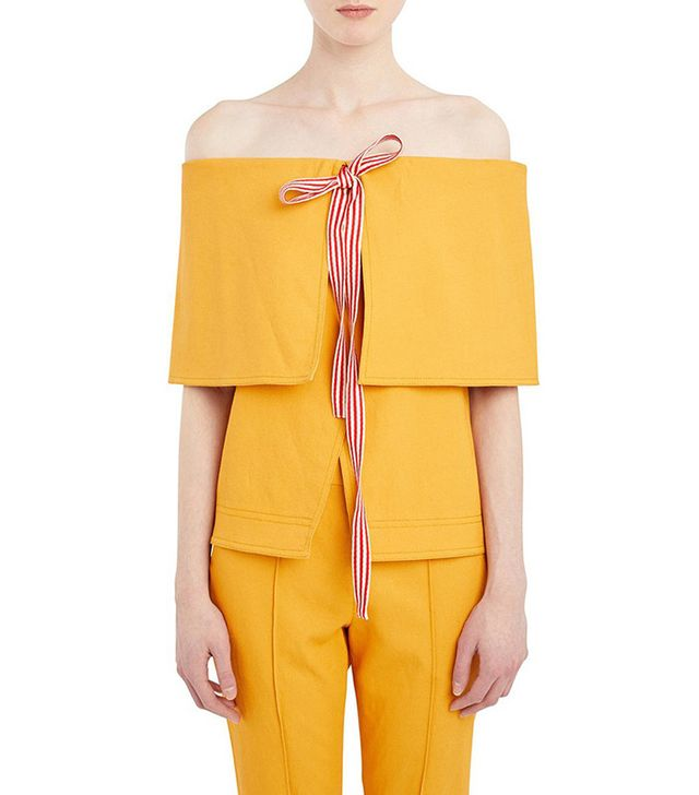 Rosie Assoulin Fold Over Top