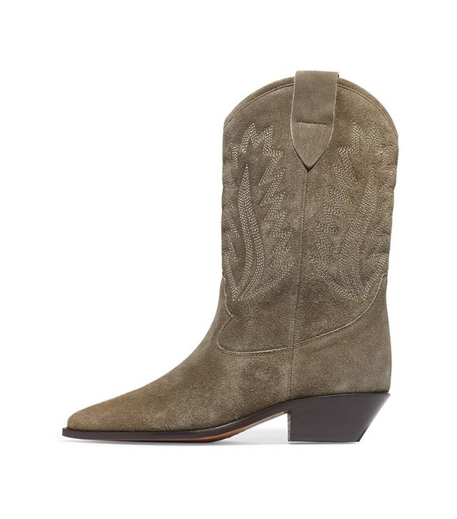 Isabel Marant Dallin Suede Boots