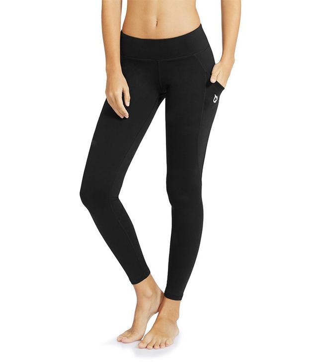 """Baleaf Women's Yoga Workout Leggings Side Pocket for 5.5"""" Mobile Phone"""