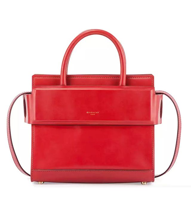 Givenchy Horizon Mini Leather Satchel