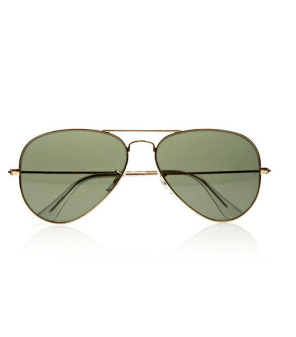 Best-Sellers on Net-a-Porter: Ray-Ban Aviator Gold-Tone Sunglasses