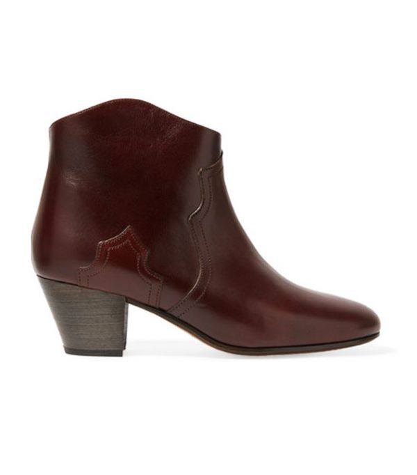 Best-Sellers on Net a Porter: Isabel Marant Étoile Dicker Leather Ankle Boots