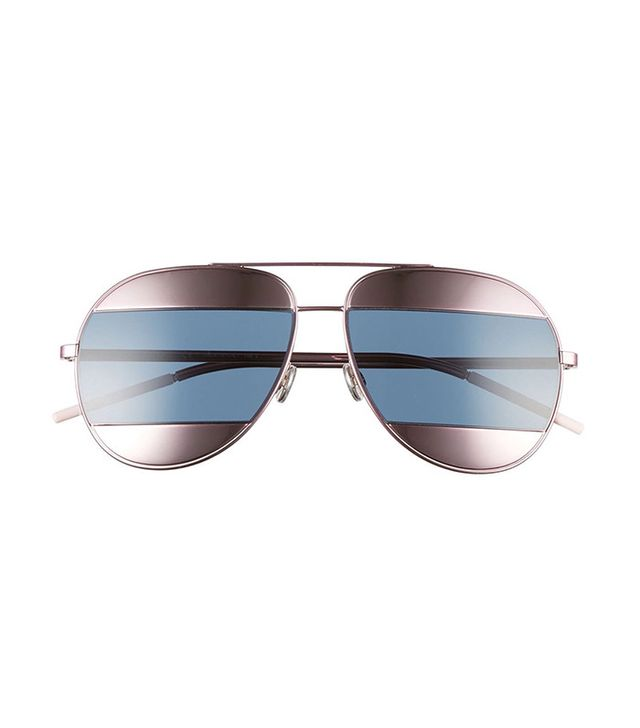 Dior Split 59mm Aviator Sunglasses