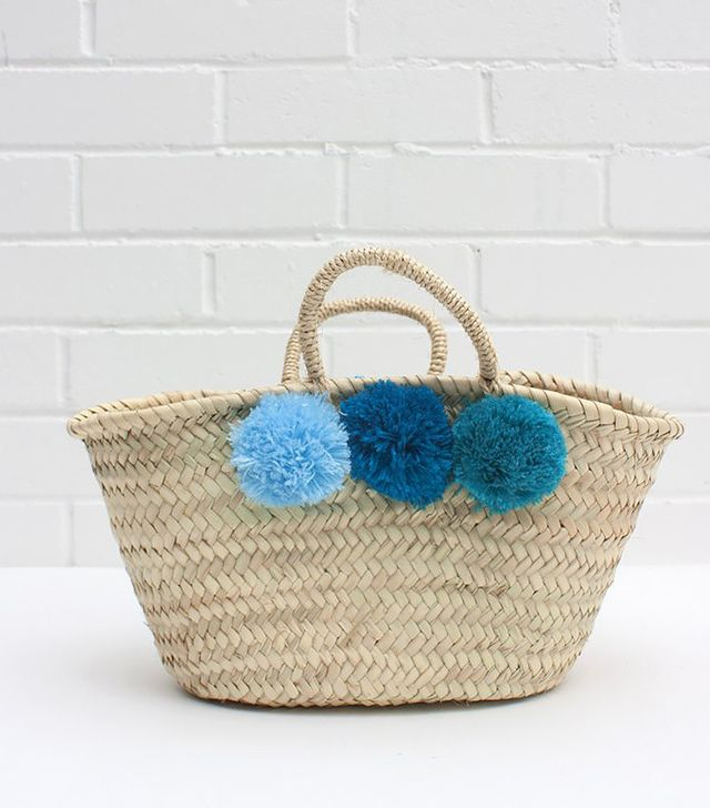 Sedona East Mini Market Pom Pom Baskets
