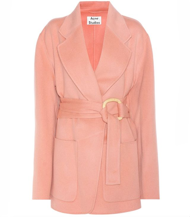 Acne Studios Lilo Wool and Cashmere Coat