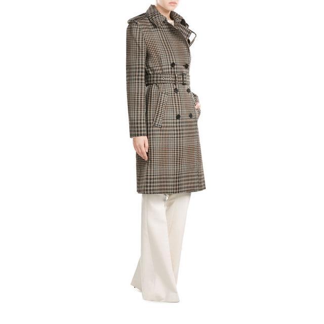 3.1 Phillip Lim Printed Virgin Wool Trench Coat