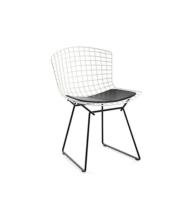 Knoll Bertoia Two-Tone Side Chair With Seat Pad
