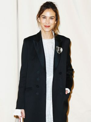 Annie Hall Made Alexa Chung Purchase This Surprising Piece of Clothing