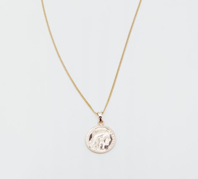Reliquia Gold Mini Lucy Coin Pendant