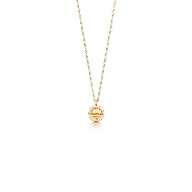 Tiffany & Co. Circle Pendant
