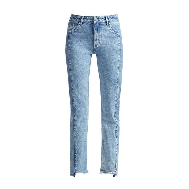 French Connection Remix Step Hem Straight Leg Jeans