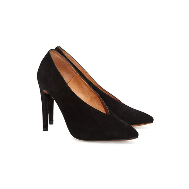 French Connection Arianna High Vamp Pointed Shoes
