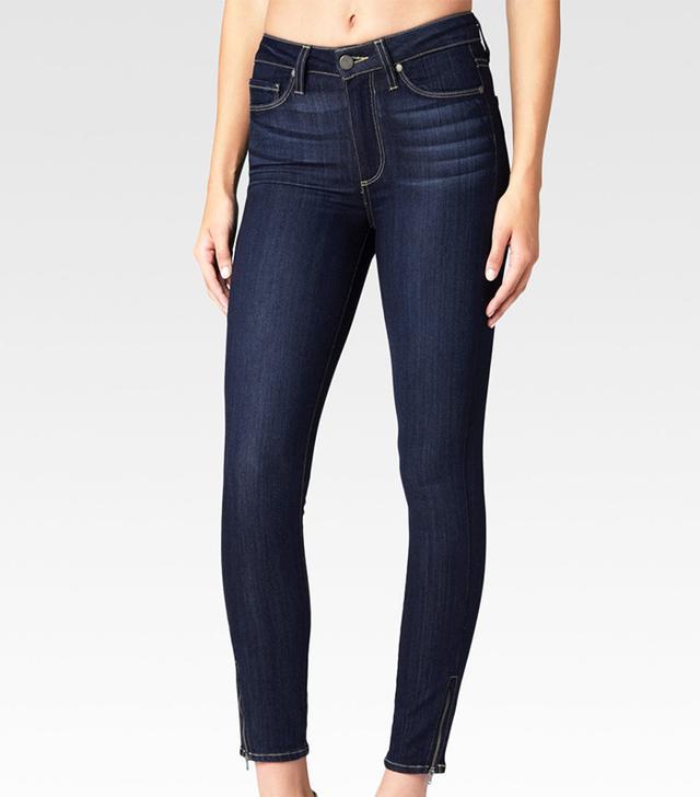 Paige Hoxton Zip Jeans in Seneca