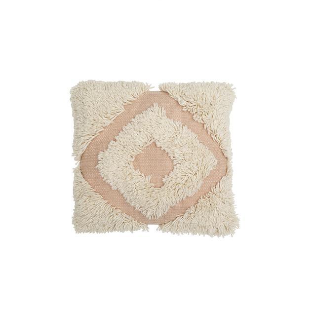 Langdon LTD Diamond Shag Cushion