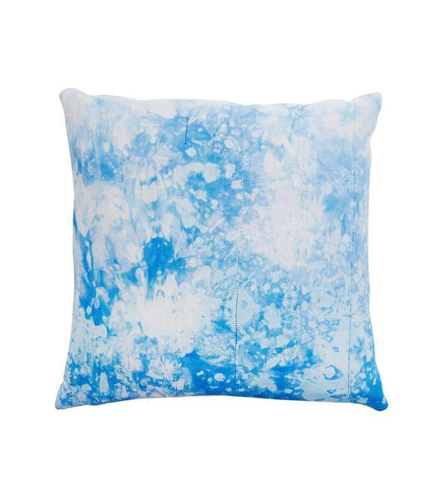 Consort Blue Shibori Pillow
