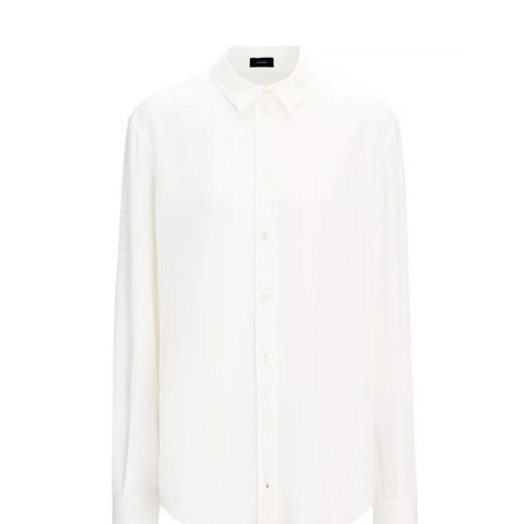 Silk Rib New Garcon Blouse