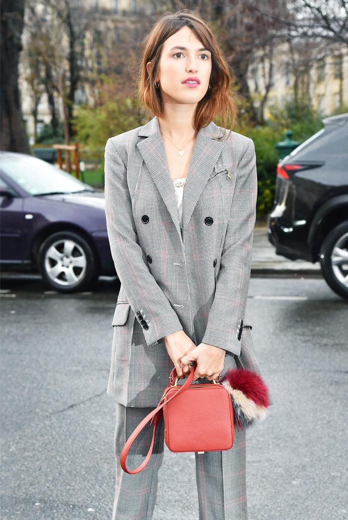 Jeanne Damas blazer outfit
