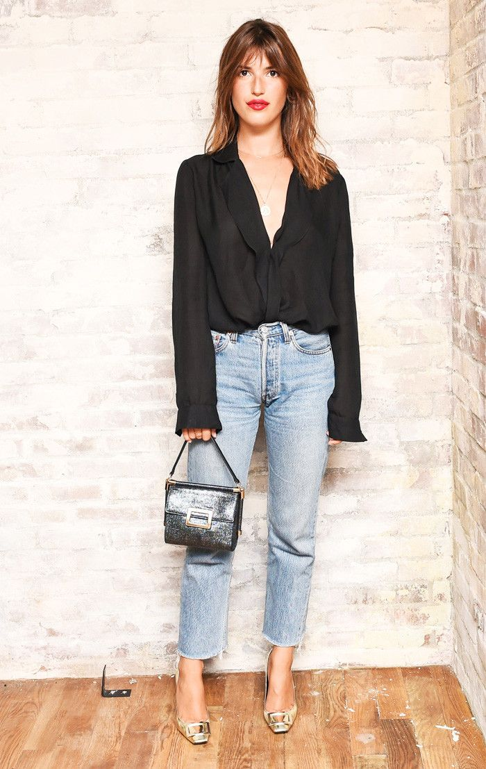Jeanne Damas, blouse, french girl style
