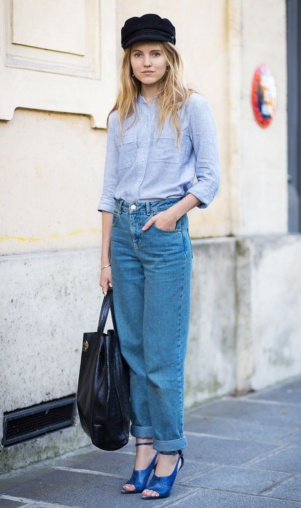 How to Wear Mom Jeans—The Tops, Shoes and Boots That Work ...