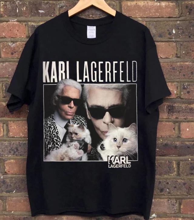 Homage Tees Karl Lagerfeld