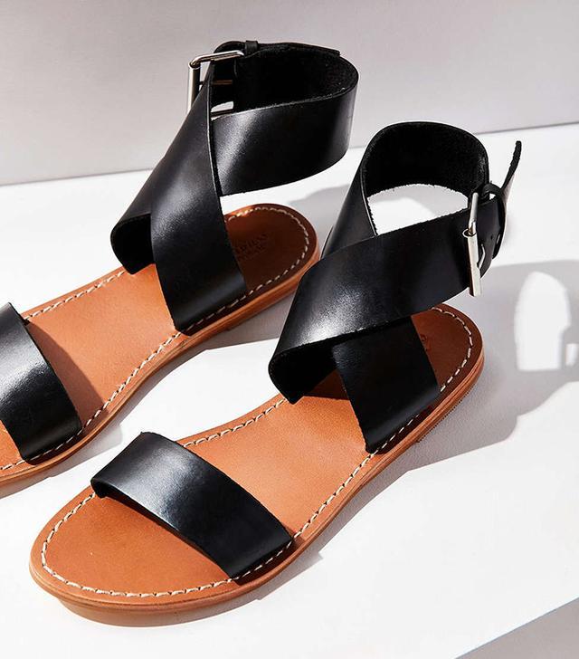 UO Kirstie Leather Sandals