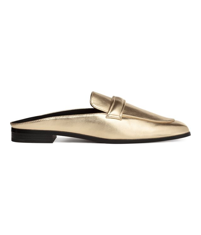 H&M Backless Loafers
