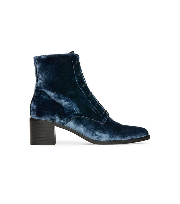 Freda Salvador Ace Lace Up Mid Heel Boots