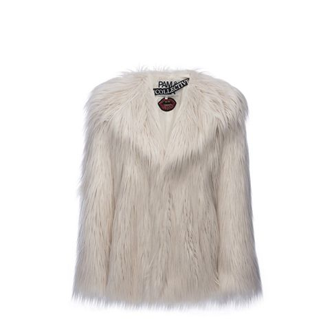 The Collective Faux Fur Coat