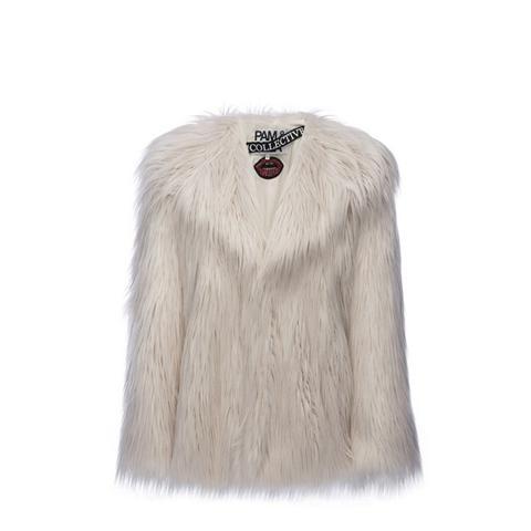 The Collective Faux Fur Coat