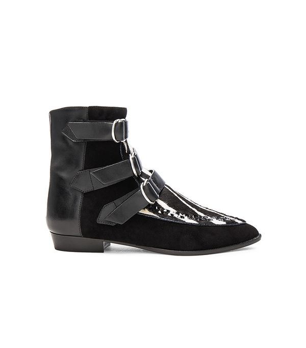 Isabel Marant Suede Rowi Mods Boots
