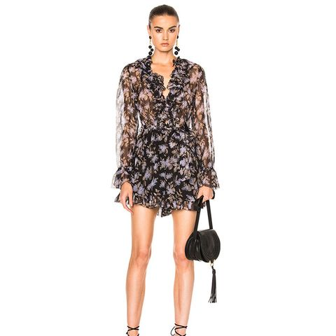 Stranded Ruffle Playsuit