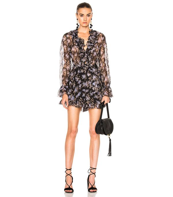 Zimmermann Stranded Ruffle Playsuit