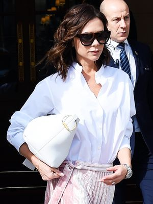 How Victoria Beckham Recycles a Fail-Safe Outfit Combo