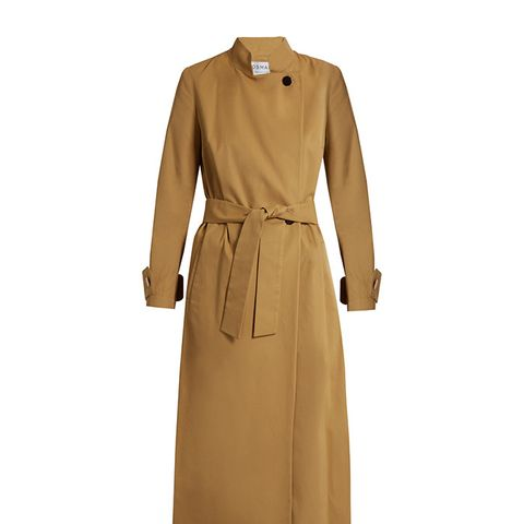 Perfect 5 Nura Cotton-Twill Trench Coat