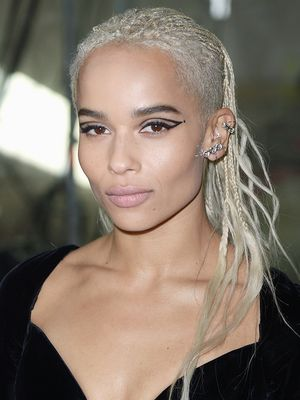 Zoë Kravitz on How Her Beauty Routine Has Changed Since Going Blonde