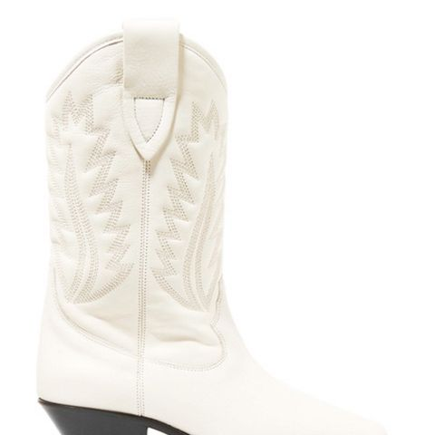 Dallin Embroidered Leather Boots