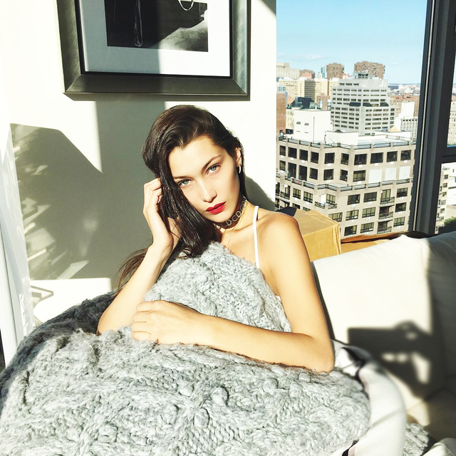 Bella Hadid's Genius Sleep Hack Is One We Should All Follow