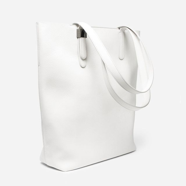 Everlane Petra Magazine Tote in White
