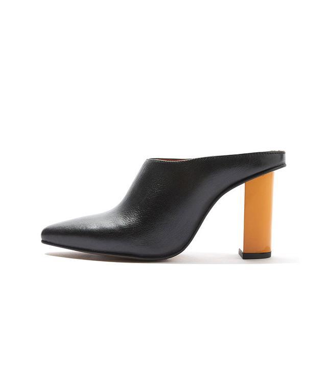 Topshop Greece Feature Heel Mules