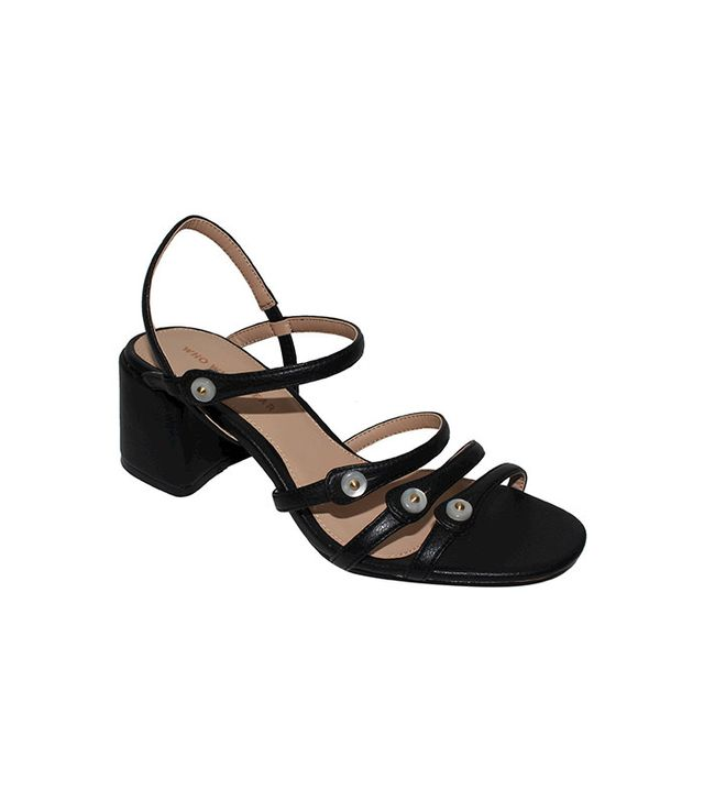 Who What Wear Charlotte Strappy Quarter Strap Sandals