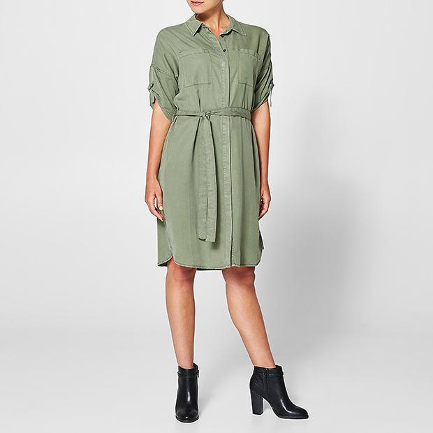 Target Tencel Utility Dress