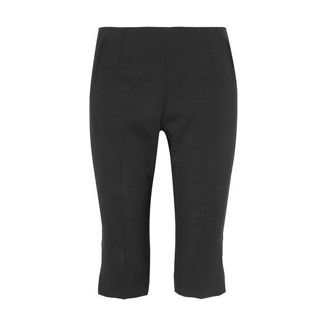 Totême La Paz Pleated Wool-Blend Shorts