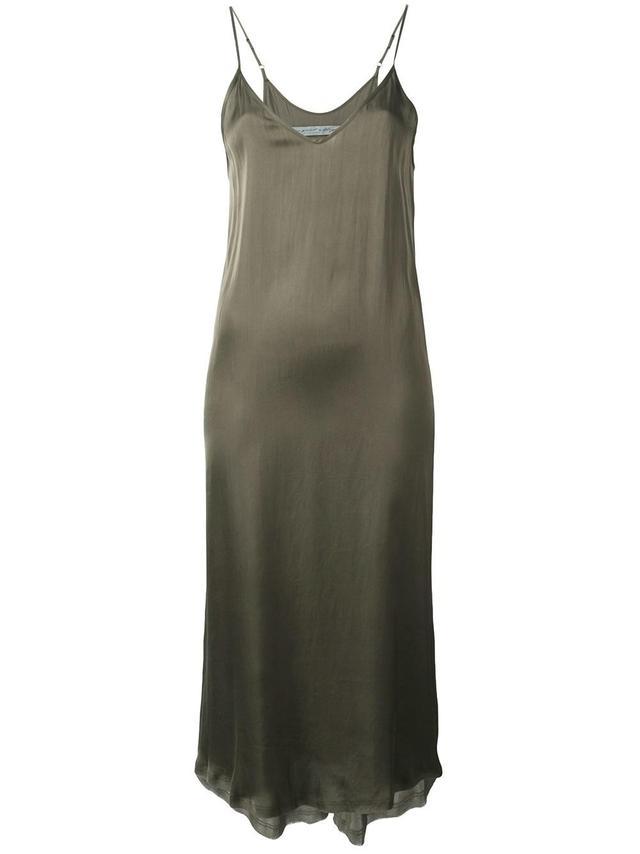 Raquel Allegra Midi Slip Dress