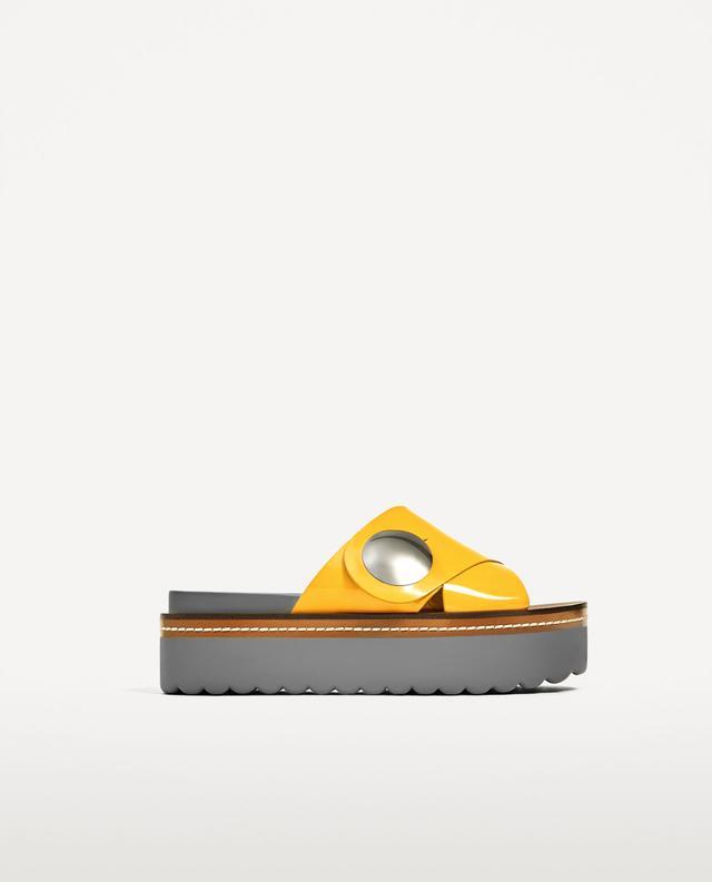 Zara Crossover Platform Wedges