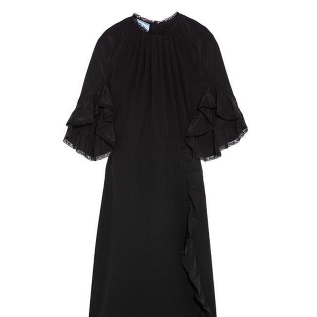 Black dress Prada