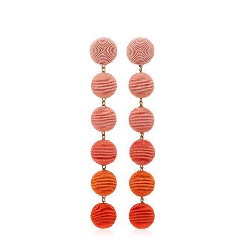 Six Drop Ombre Earrings