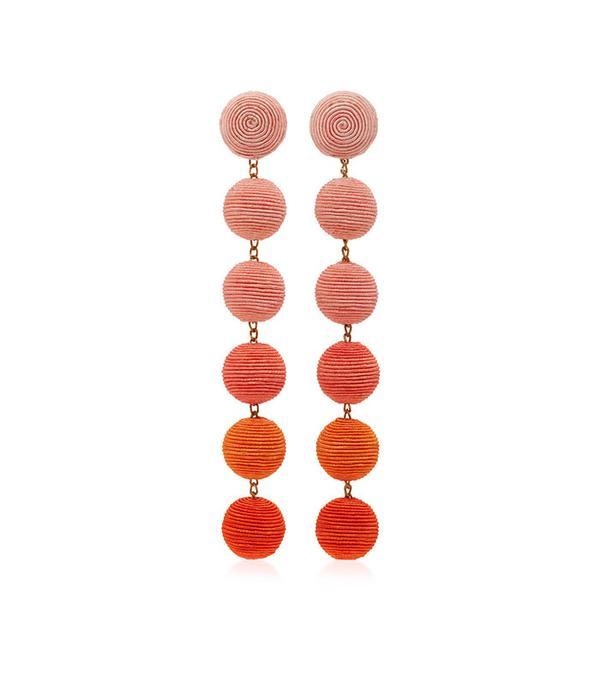 Rebecca de Ravenel Six Drop Ombre Earrings